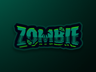Zombie Text Logo