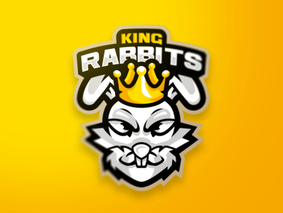 Rabbit Mascot Logo icon mark letter mascot illustration esports identity gaming design branding logo