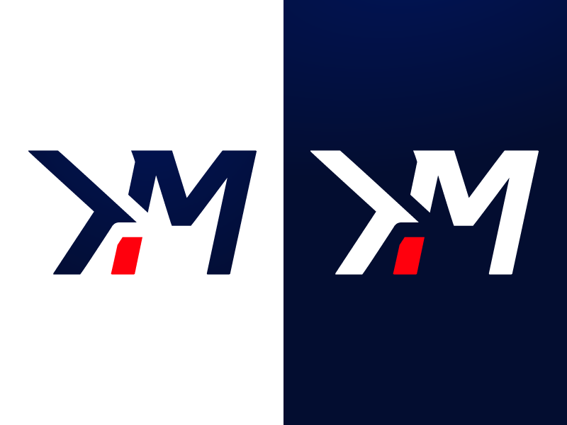 Km Logo By Afan Nalic On Dribbble