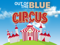 Out of the blue & intro the circus