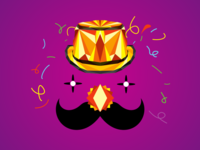 Movember and carnival party