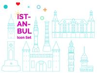 Istanbul Icon Set