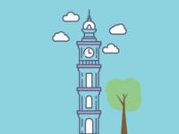 Dolmabahçe Clock Tower