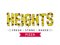 Heights Pizza Drippy logo