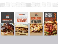 Aussie Grill Digital Marketing Screens