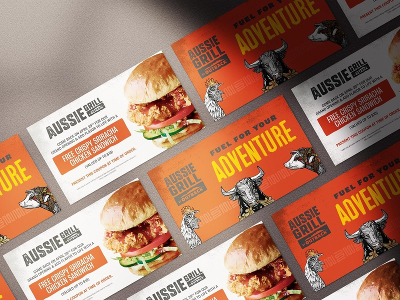 Aussie Grill Grand Opening Coupons by Shannon Gerdauskas on