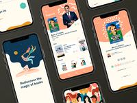 Concept Audiobook App