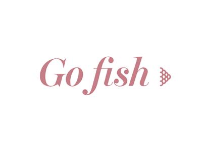 Go Fish logo design fish graphic branding design logo ecobag