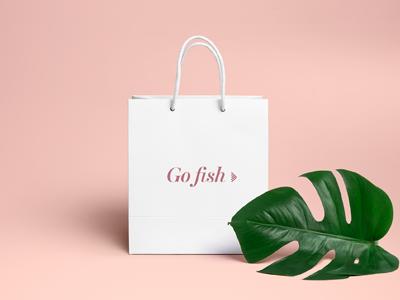 Go Fish logo design