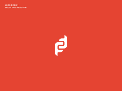 Fresh Partners Logo Design ambigram conceptualizacion abstraccion universidad programa diseño de logotipo abstraction partners fresh logo typography branding vector digital pollitq design