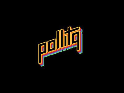 Pride Logo 2020 diseño de marca diseño d elogo logodesign retro colors rainbow pride apple animation logo typography branding vector digital illustration design pollitq