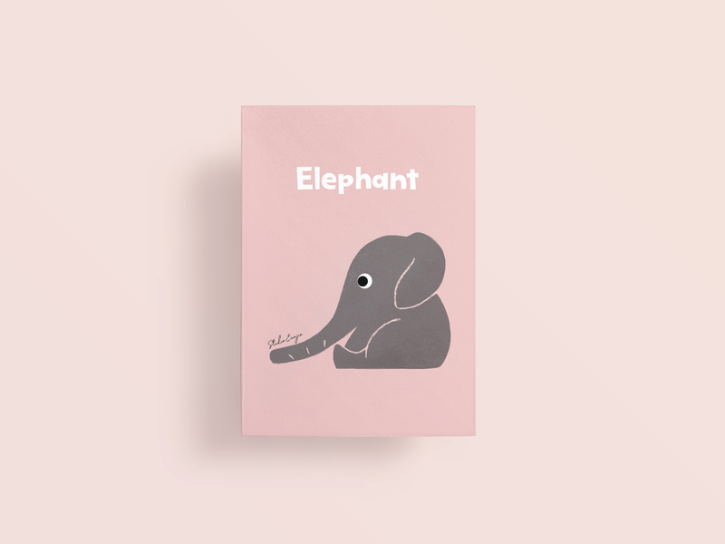 Animal Series. 2 Elephant vintage illustration retro illustration indian pink kids animal illustration australia graphic design lifedrawing art dailydrawing applepencile procreate ipadpro illustration