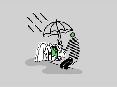 Youi Home Insurance landing page illustration landingpage webdesign ui design insurance illustration insurance ui desgin ui digital illustration australia dailydrawing applepencile procreate ipadpro illustration
