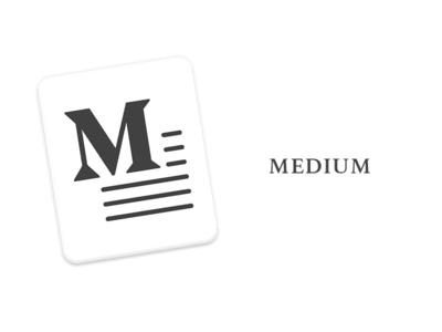 Medium icon for macOS