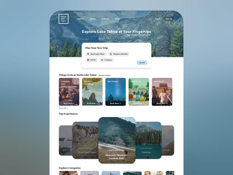 travel guide website