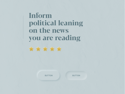 Political leaning browser extension teaser