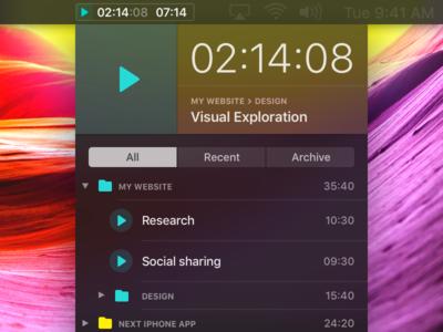 Timepal Pro – Timer Window