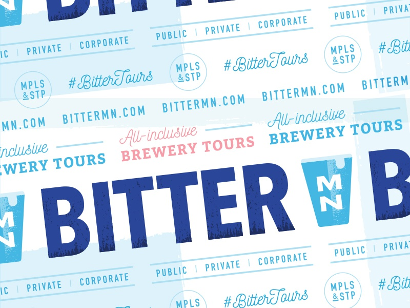 Bitter MN Brewery Tours Pattern brewery guide tour bus beer