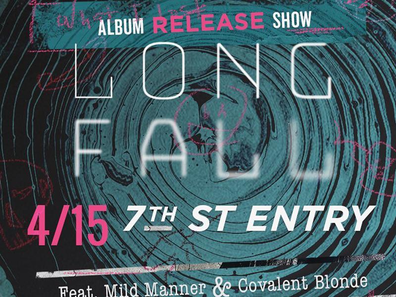 Longfall Album Release Show hip hop live music punk sketch rock alternative album music