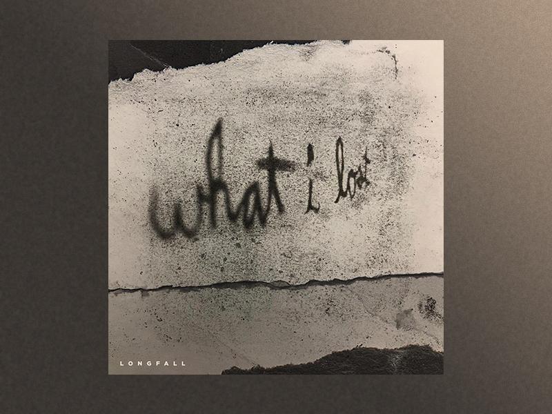 Longfall What I Lost Album Artwork hip hop live music minneapolis charcoal sketch rock alternative album music