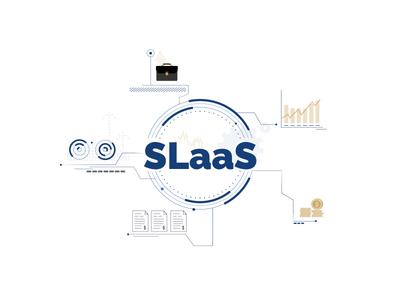 SLaaS money stockmarket illustration vector tech startup finance