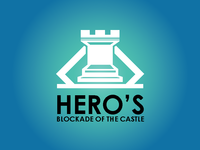 Logo Design - hero's blockade