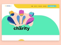 The Charity - Web Design