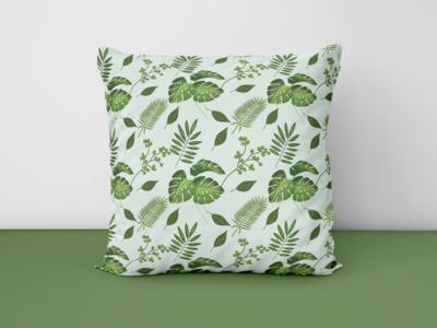 Tropical seamless Pattern sample