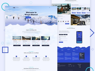 Mount Blanco homepage