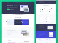 Advertify - Dashboard & Homepage design