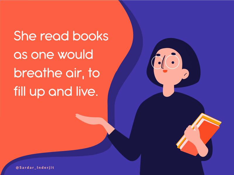 Design a calming mantra (Reading Books)