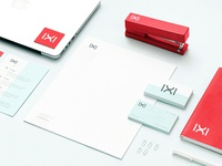 IXI Logo Design and Office Print Materials