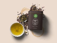 The Amer Tea Tin Box Packaging Design