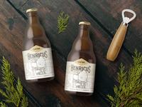 Cafiee Beer Packaging Design
