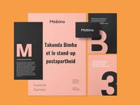 Mobino Inc Brand Identity & Print Design