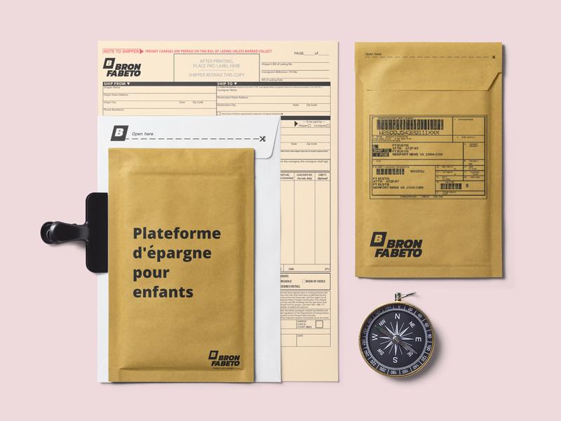 Bron Fabeto Corporate Branding / Packaging design print design graphic typography business packaging design invoice design branding design