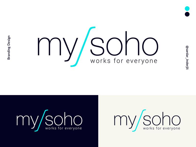 mysoho branding design art stationery icon print design business clean branding typography graphic design