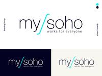 mysoho branding design
