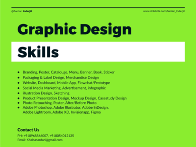 graphic design skill Banner Design