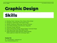 graphic design skill Banner Design