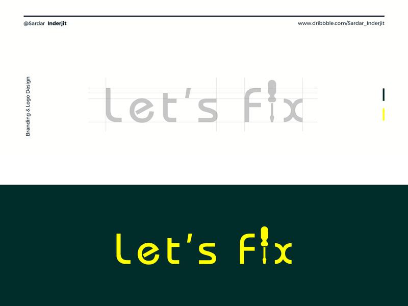 Let's Fix Branding & Logo Design 2019 behance logo logotype dribbble project art brandbook agency marketing creative