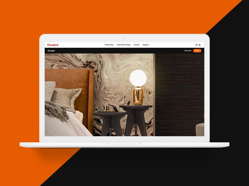 Flambird Website Redesign business website design creative branding clean ux ui typography design graphic