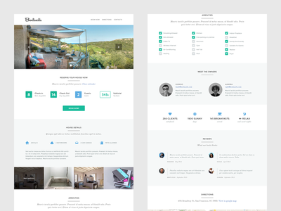 Real Estate WordPress real estate wordpress theme template web design ux ui guest house