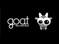 Goat *mad farm wear logo