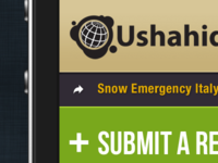 Mobile web application Ushahidi
