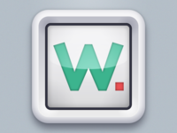 Watchup App icon 1st proposal