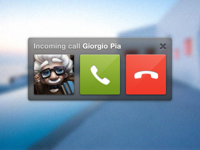 Skype Call Ui giorgio playoff osx apple rebound mac freebie psd interface skype app ui