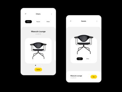Interior Shop App