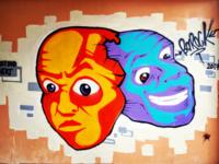 Τοιχογραφία στον Κολωνό - Athens Wall Design