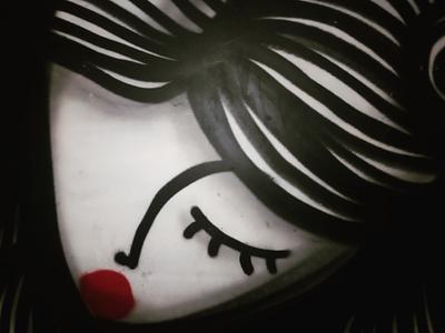 Θηλυκό - Feminine αθήνα φωτογραφία τοιχογραφία τέχνη δρόμου σκίτσο σχέδιο athens photography photo retouching urban art street art graffiti wall design graphic design illustration storytelling